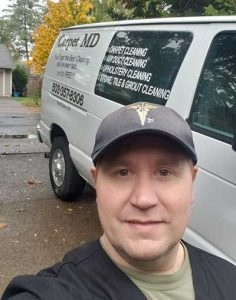 Chris-Brevig-Cleaning-Carpets-In-Beaverton-OR